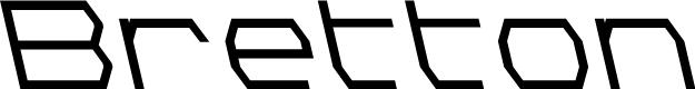 Preview image for Bretton Semi-Bold Leftalic