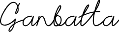 Ganbatta