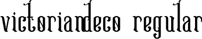 Preview image for Victoriandeco Regular Font