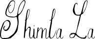 Preview image for Shimla La Font