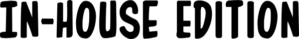 Preview image for In-House Edition Regular Font