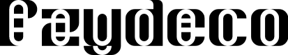 Preview image for Pzydeco Regular Font