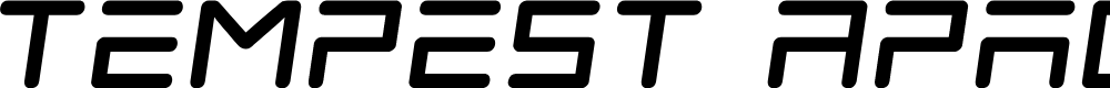Preview image for Tempest Apache Semi-Italic