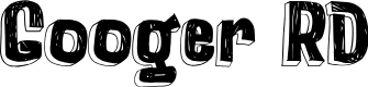 Preview image for Googer RD Font