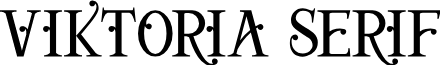 Viktoria Serif