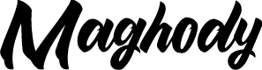 Preview image for Maghody Font