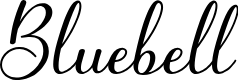 Preview image for Bluebell Font