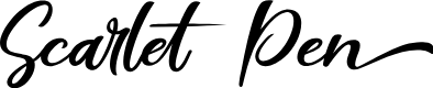 Preview image for Scarlet Pen Font