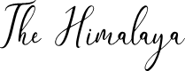 Preview image for The Himalaya Font