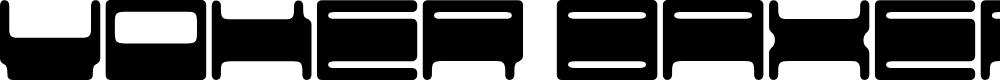 Preview image for Voker baxer Font