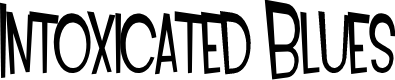 Preview image for SF Intoxicated Blues Font