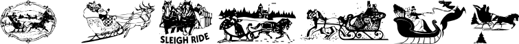 Sleigh Ride font