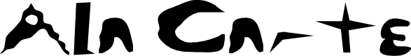 Preview image for Ala Carte Font