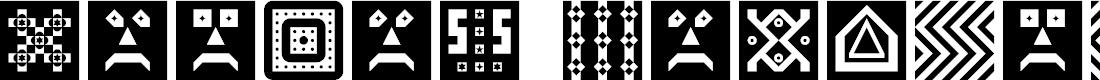 Preview image for Shapes Regular Font
