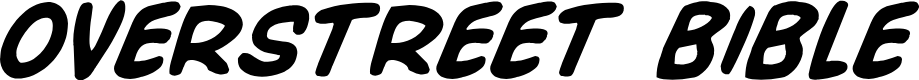 Preview image for Overstreet Bible Bold Italic