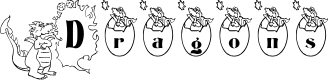 Preview image for BJF Dragons Font