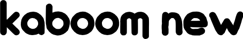 Preview image for KaBoom New Font