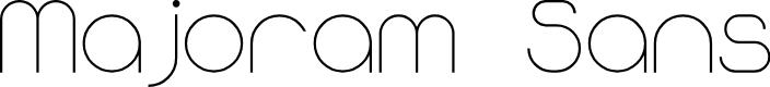 Preview image for Majoram Sans