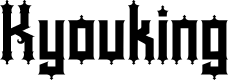 Preview image for Kyouking Font