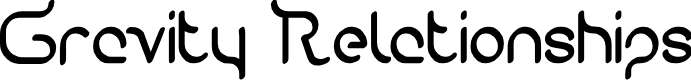 Preview image for Gravity Relationships Font