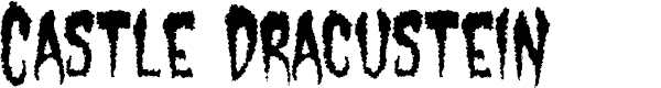 Preview image for Castle Dracustein Font