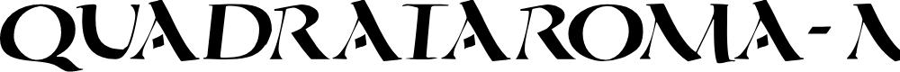 Preview image for QuadrataRoma-MediumOblique Font