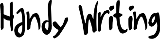 Preview image for Handy Writing Font
