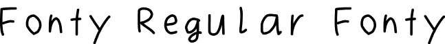 Fonty Regular Fonty
