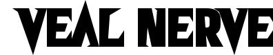 Preview image for Veal Nerve Font