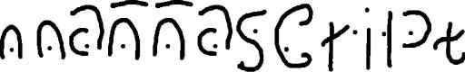 Preview image for mannascript Font