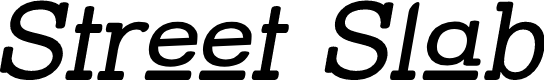 Preview image for Street Slab Upper Italic