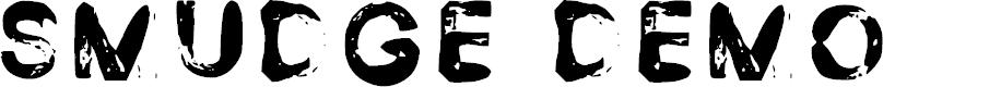 Preview image for Smudge Demo Regular Font