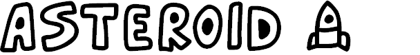 Preview image for Asteroid 7337 Font