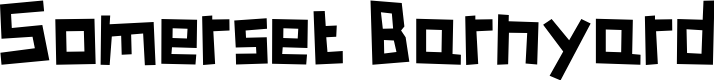 Preview image for Somerset Barnyard Font