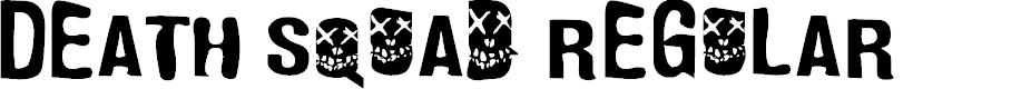 Preview image for Death Squad Regular Font