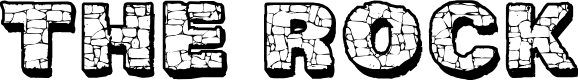 Preview image for CF The Rock Personal Use Regular Font