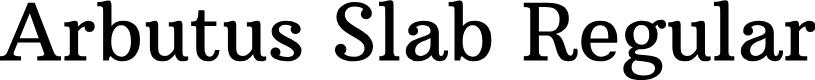 Preview image for Arbutus Slab Regular Font