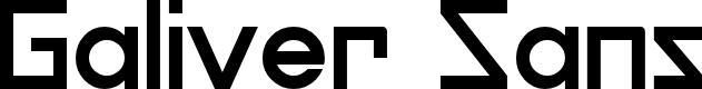Preview image for Galiver Sans Font