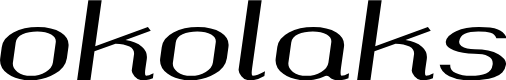 Preview image for okolaks Bold Italic