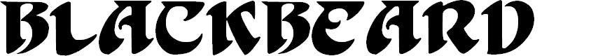 Preview image for BlackBeard Font
