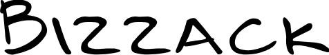 Preview image for Bizzack Font