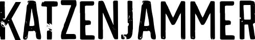 Preview image for DKKatzenjammer Font
