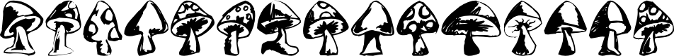 Preview image for Shrooms Font