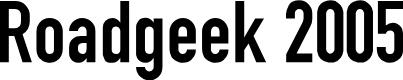 Preview image for Roadgeek 2005 Engschrift Font