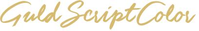 Guld Script Color PERSONAL Reg
