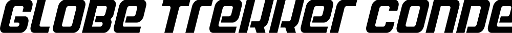 Globe Trekker Condensed Italic