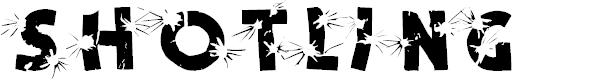 Preview image for Shotling Font
