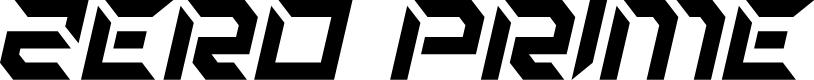 Preview image for Zero Prime Italic Font