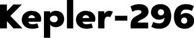 Preview image for Kepler-296 Font