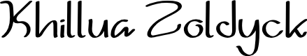 Preview image for Khillua Zoldyck Font